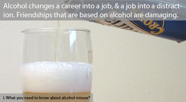 The alcohol misuser's partner is faced with a stark choice: to tolerate or confront.