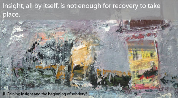 Guilt and shame should be part of the territory of addiction.