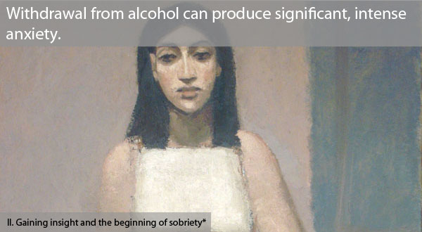Full alcohol withdrawl is a severe medical condition, needing medical treatment.