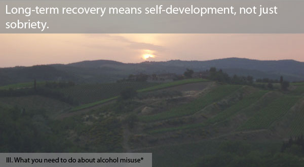Information from research can help us to understand the nature of addiction and alcoholism.